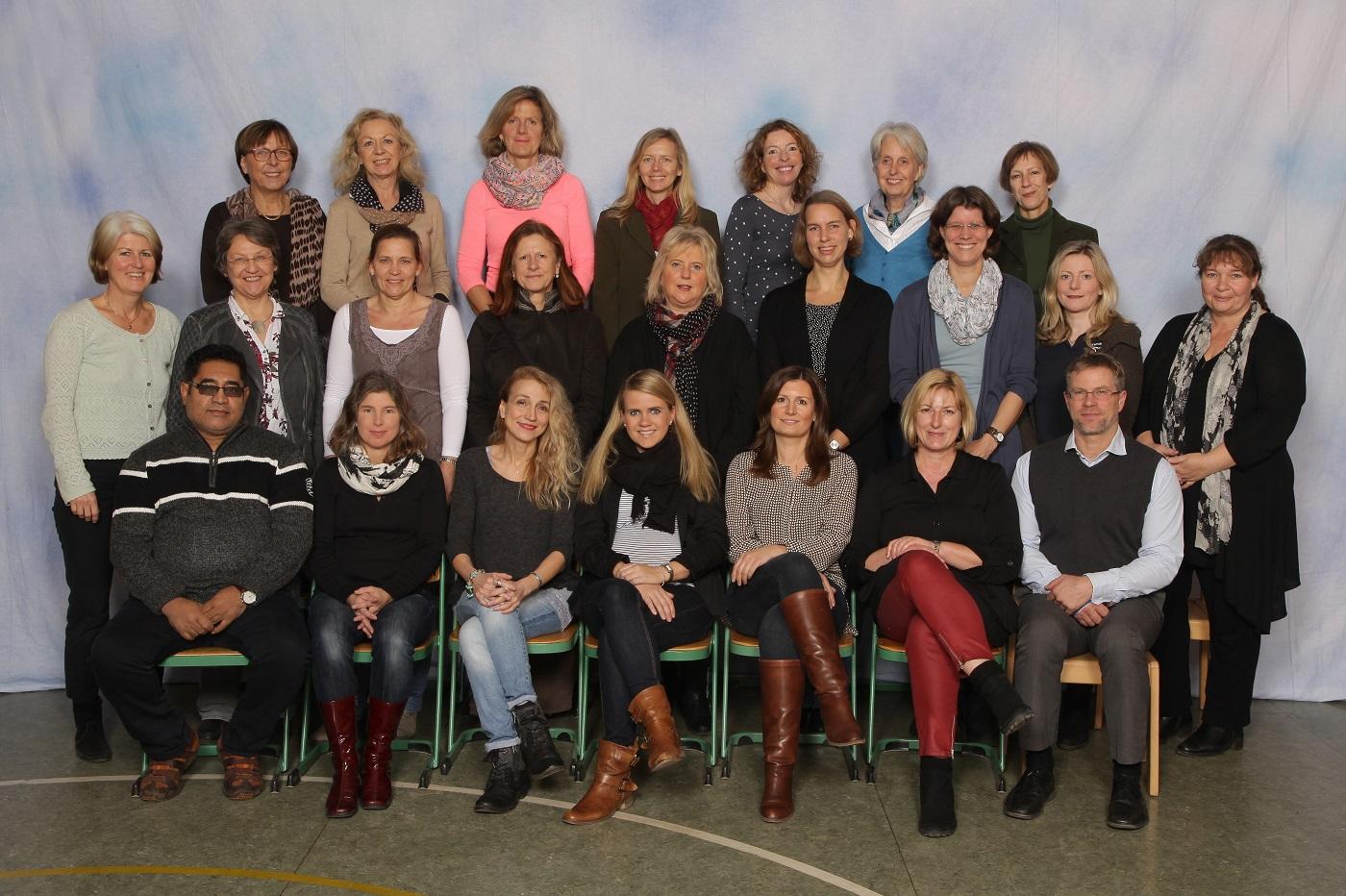 Kollegium der Grundschule Buckhorn im Dezember 2015