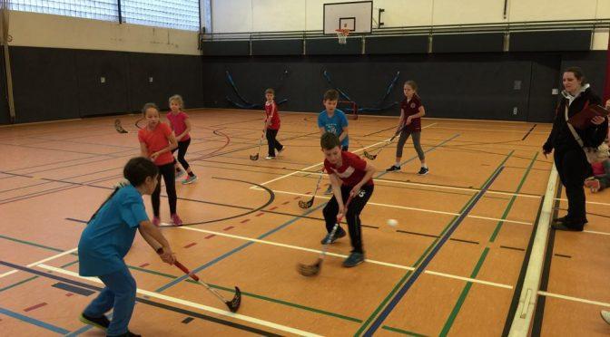 Erstes Floorballturnier für Grundschulen der Region Wandsbek-Nord