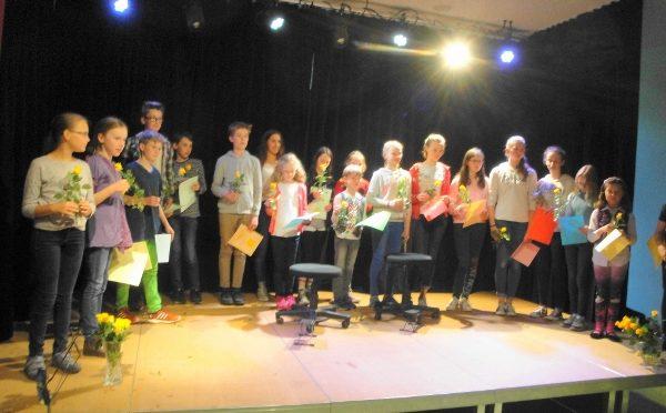 Konzert der Instrumentallehrer am 30. Juni 2017