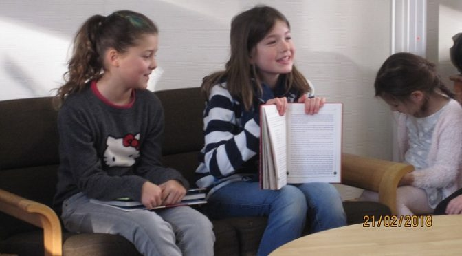 Märchenvortrag in den Vorschulklassen