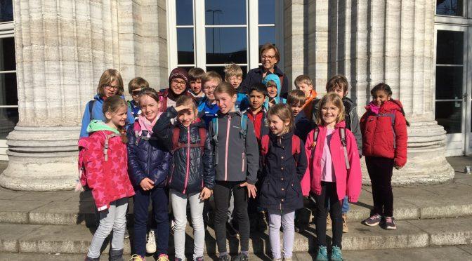 Besuch der Kunsthalle mit der Klasse 2b